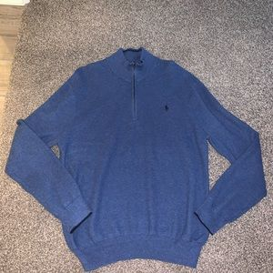 Polo Ralph Lauren 1/4 Zip Sweater men's  XL